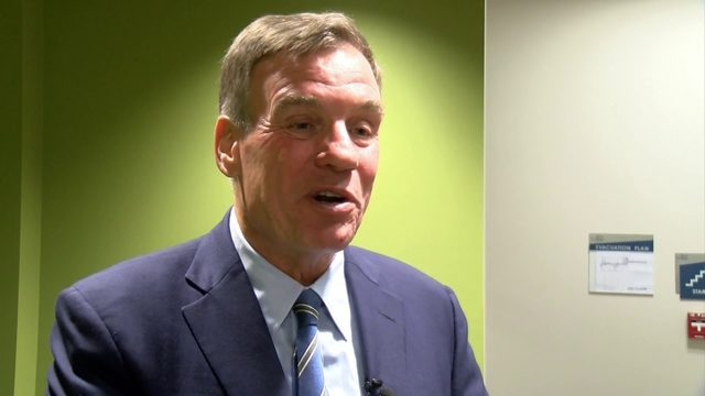 Sen. Mark Warner meets with Martinsville, Henry County business leaders