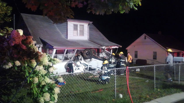 21-year-old Blacksburg man charged with DUI after crashing into house
