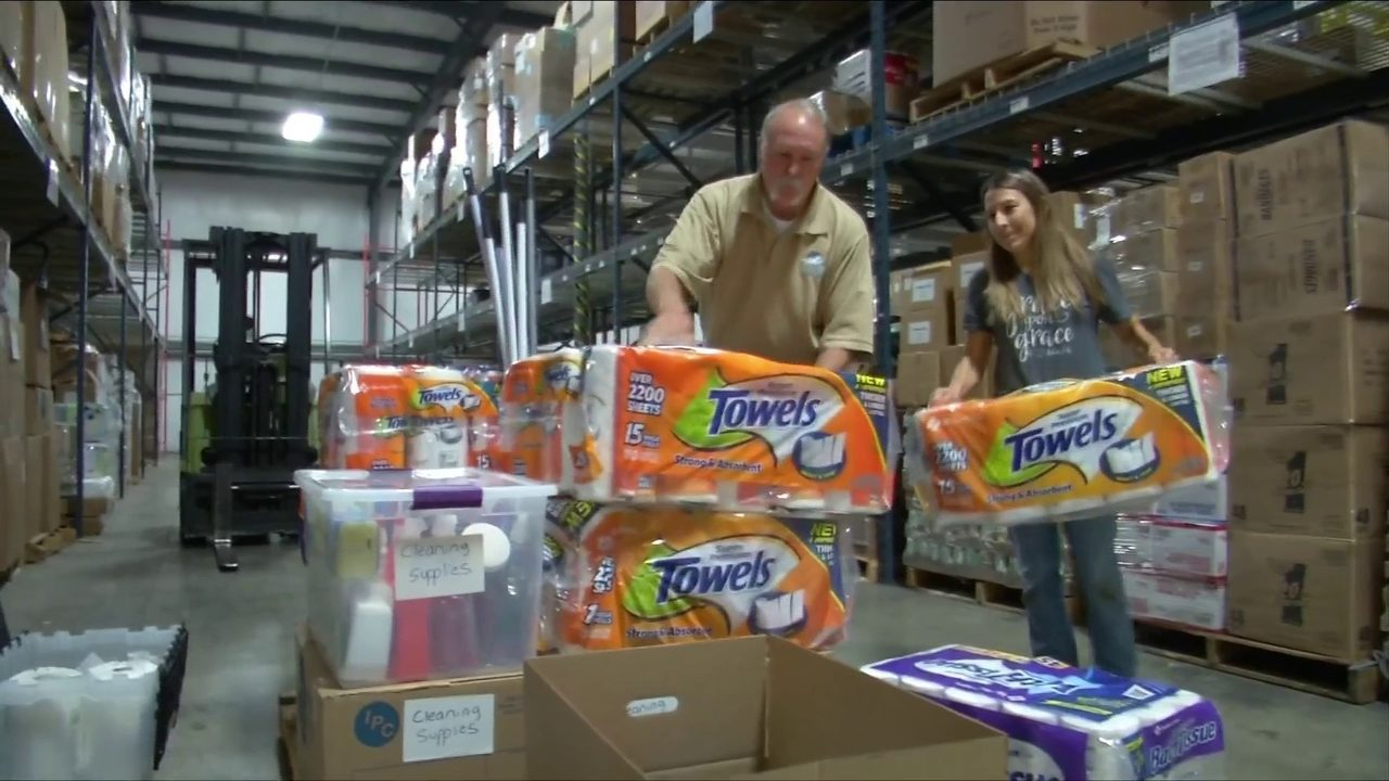 Local disaster relief organizations ready to send help after Hurricane Dorian