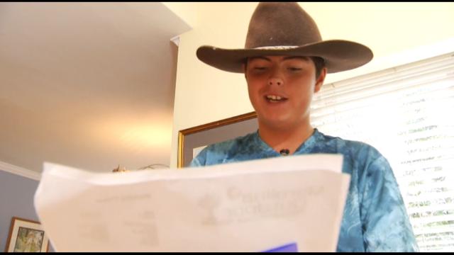 Roanoke teen with autism chosen as brand ambassador for favorite…