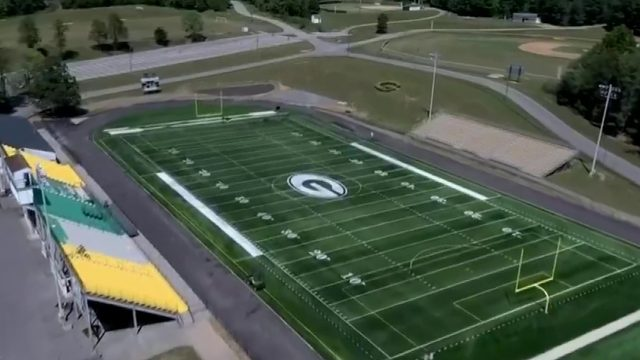 Highlanders break in new, safer turf football field