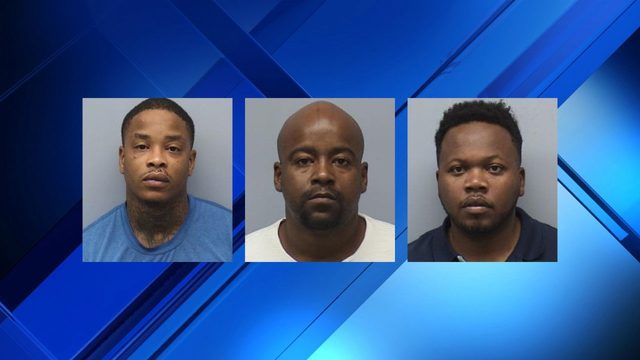 Three facing charges after more than 600 grams of drugs, thousands in…