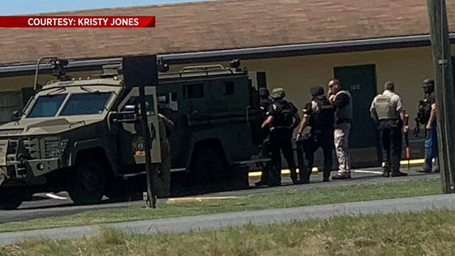 Standoff ends at Henry County motel