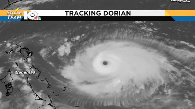 Dorian is now a major Category 4 hurricane