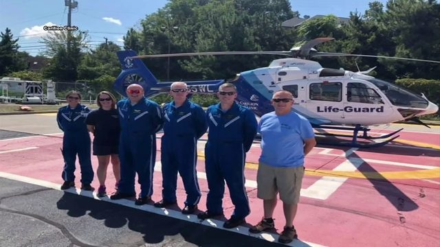 While others flee, Carilion Clinic Life-Guard heads straight toward…