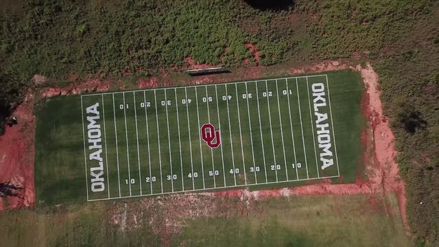 Man builds replica of his favorite college football stadium in his backyard