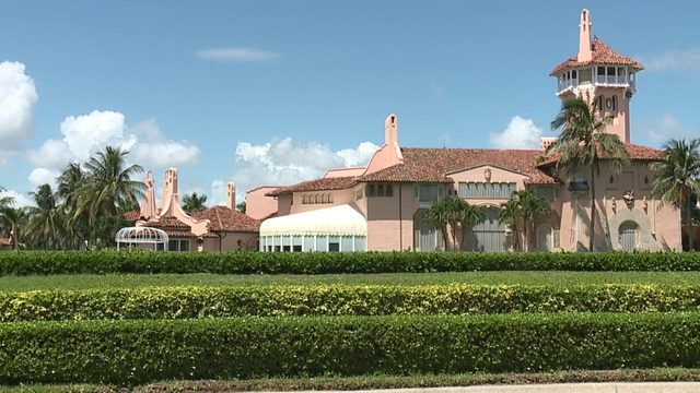 Mar-A-Lago boarded up as Hurricane Dorian heads for the US