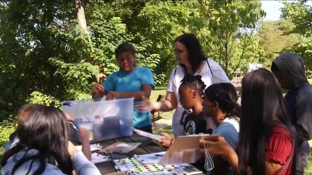 $14K grant helps nature become classroom for all Lynchburg middle school…