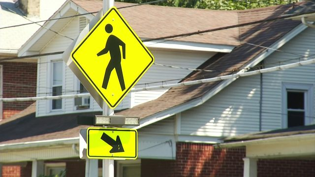 PSA urges Roanoke City residents to watch for crosswalks with flashing lights