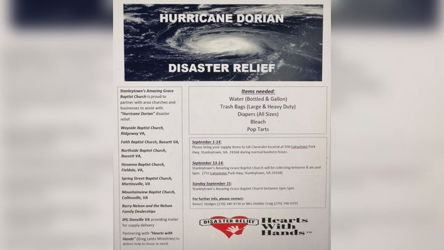 Southside churches, car dealership collecting relief supplies for…