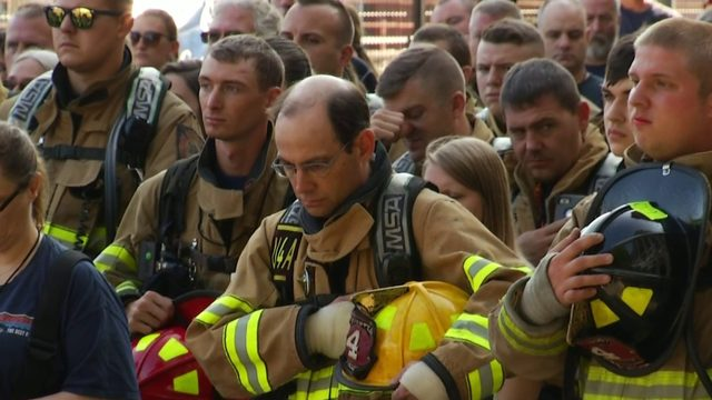Annual 9/11 Memorial Stair Climb held