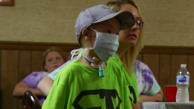 Motorcycle ride, auction raises money for boy recovering from dog attack