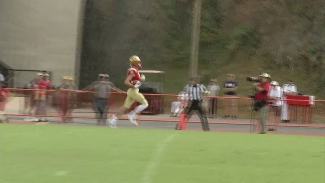 Udinski throws 4 TD passes, VMI routs Mars Hill, 63-21