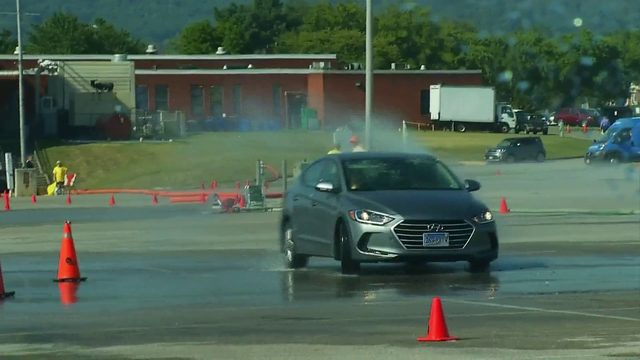 Teen driving safety course