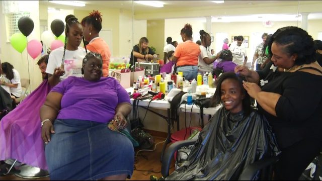 Homeless, underprivileged get much-needed makeovers