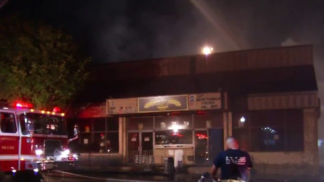 Martinsville's Rives Theatre a total loss after fire