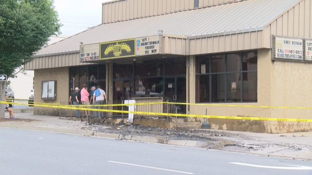 Fire at Rives Theatre started accidentally in room near surge protector,…