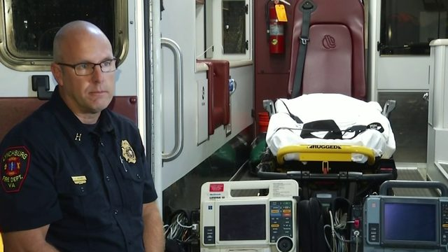 Lynchburg Fire Department pushes to replace cardiac monitors