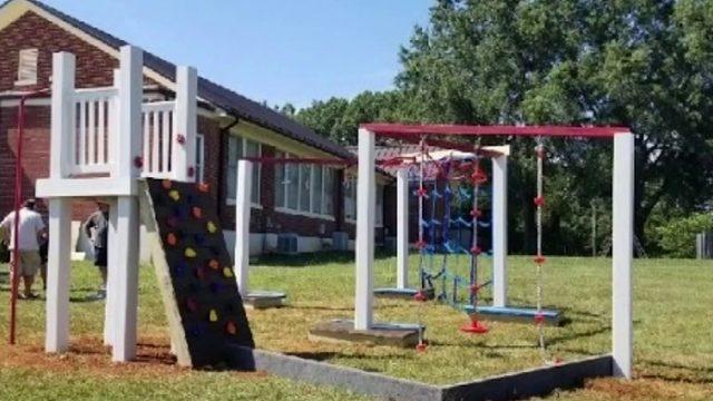 Work underway to fix playground deemed unsafe in Franklin County