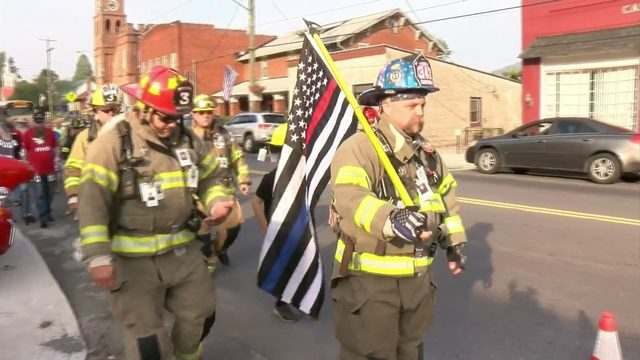 Firefighters, community honor first responders killed Sept. 11, 2001