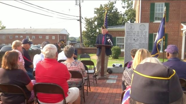 Appomattox veterans remember 9/11 victims