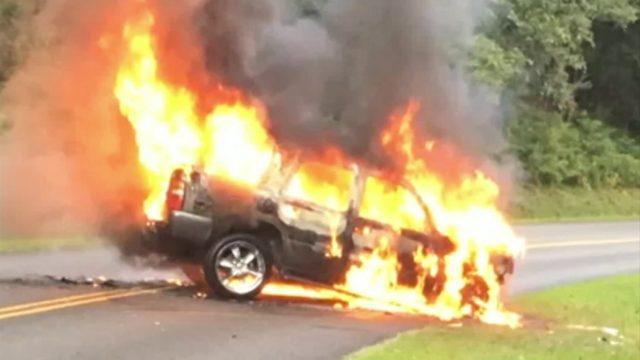 Roanoke City couple help save man from car in Blue Ridge Parkway crash