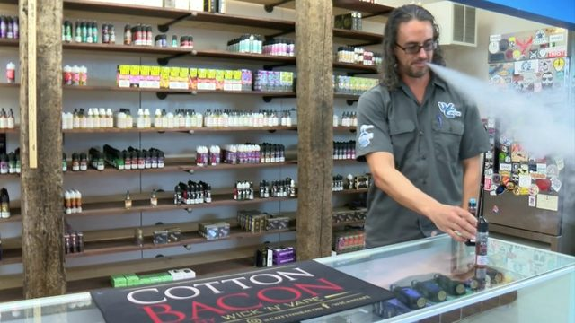 'It'll definitely put me out of business': E-cigarette businesses…