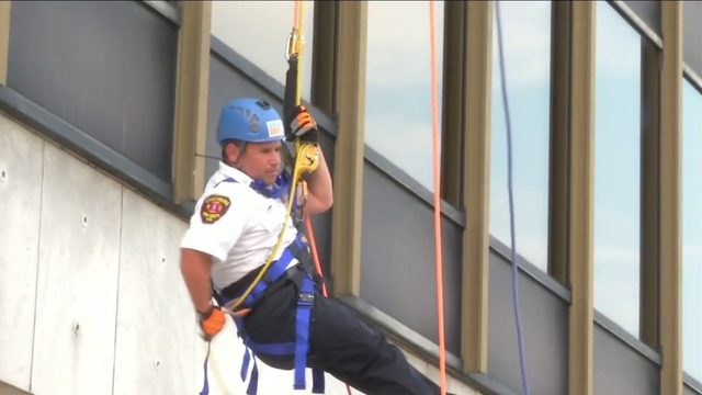 "Lynchburg's top officials go ""Over the Edge"" for charity"