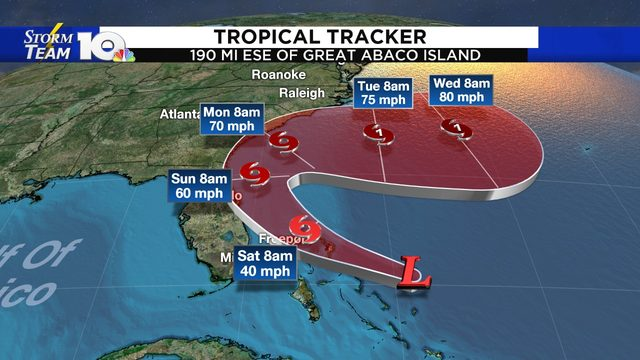 Storm in Caribbean forecast to become Humberto by Saturday morning