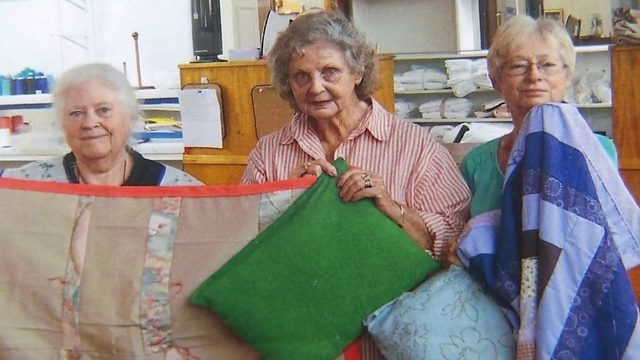 Sassy Stitchers spend retirement quilting hundreds of blankets for a good cause