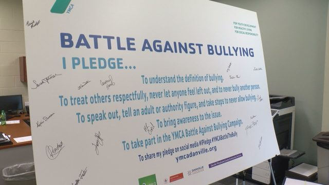 Danville YMCA to battle against bullying