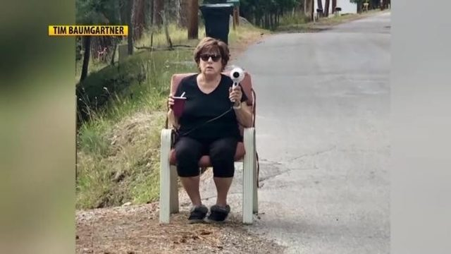 Montana Woman uses hair dryer to stop speeders in her neighborhood