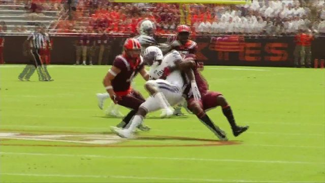Hokies Rally Past Furman 24-17