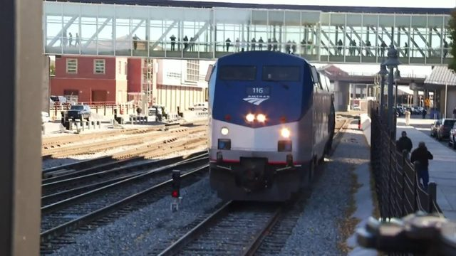 Push for shorter passenger train trips east from Roanoke could make…