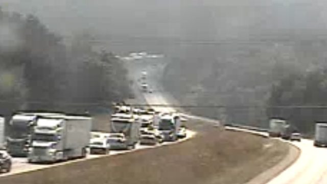 Tractor-trailer crash on Interstate 81 north in Roanoke County caused delays