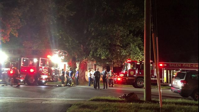 Crews extinguish residential fire in Salem, one person taken to hospital…