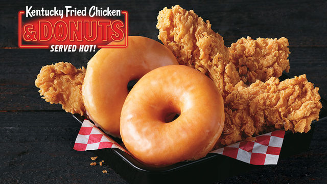 KFC testing chicken and donuts here in Virginia