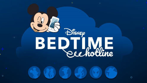 Disney Bedtime Hotline returns for second year in a row