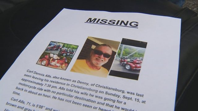 Search continues for missing Christiansburg man