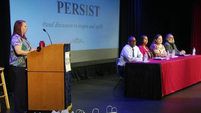 Community college panel inspires students to overcome academic obstacles