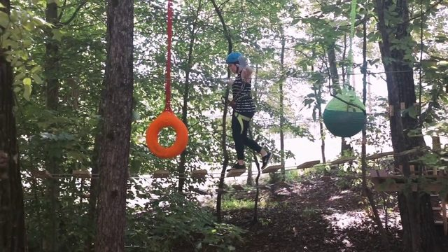 Traverse through the fun activities at Explore Park