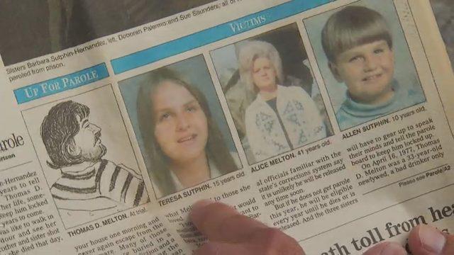 Murder victims' family speaks to Roanoke mayor against murderer's parole…
