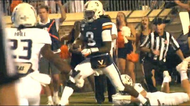 No. 21 Virginia rallies past Old Dominion to stay undefeated