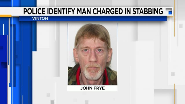 Second man charged in connection with Vinton stabbing