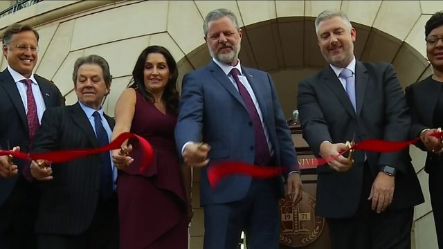 Liberty University unveils new School of Business building