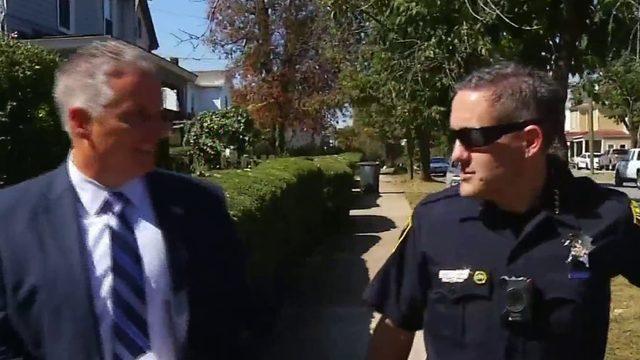 Lynchburg officers, citizens walk to improve community