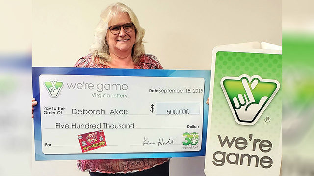 Woman wins $500,000 from a lottery scratcher after Fincastle stop