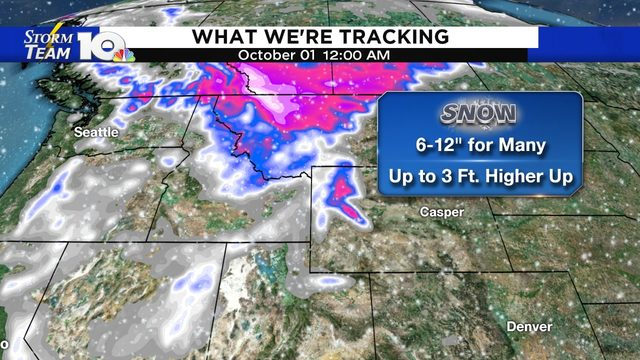 Parts of the Rockies expecting significant September snowstorm