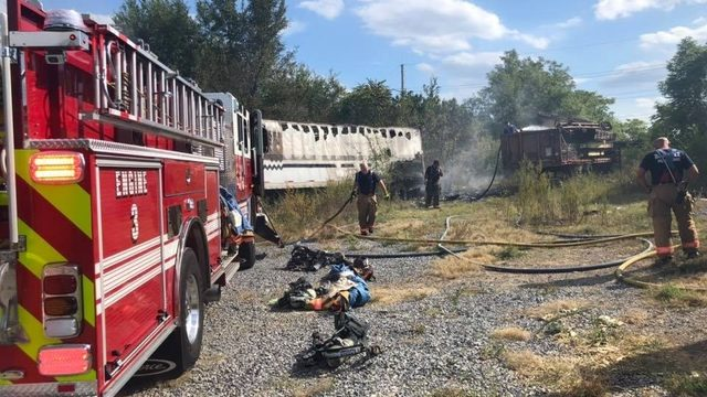 Freight car fire in Roanoke City extinguished; cause under investigation