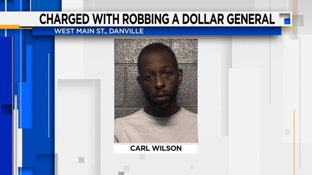 Man charged with robbing a Dollar General Saturday night